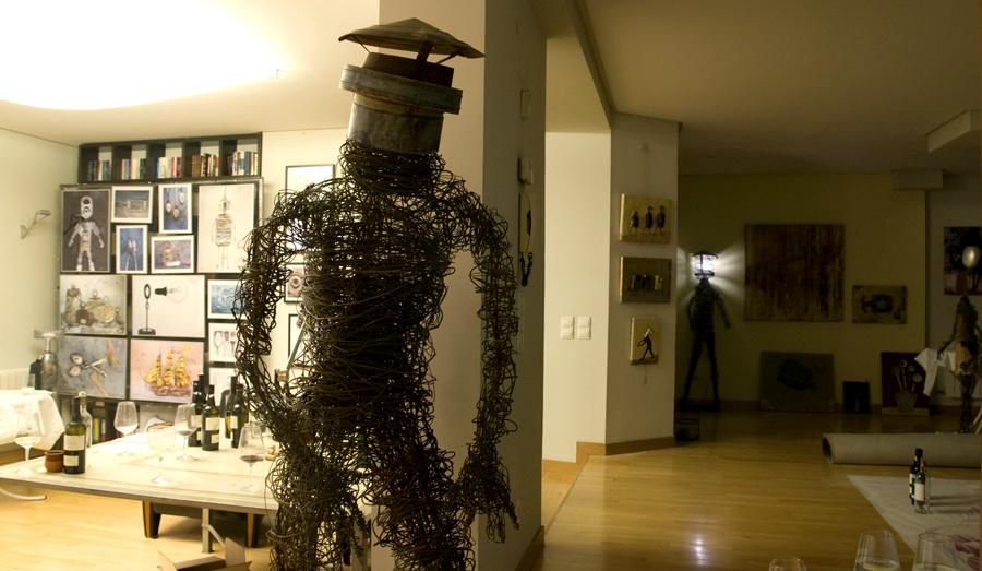 Exposición artística con Cata de Vinos
