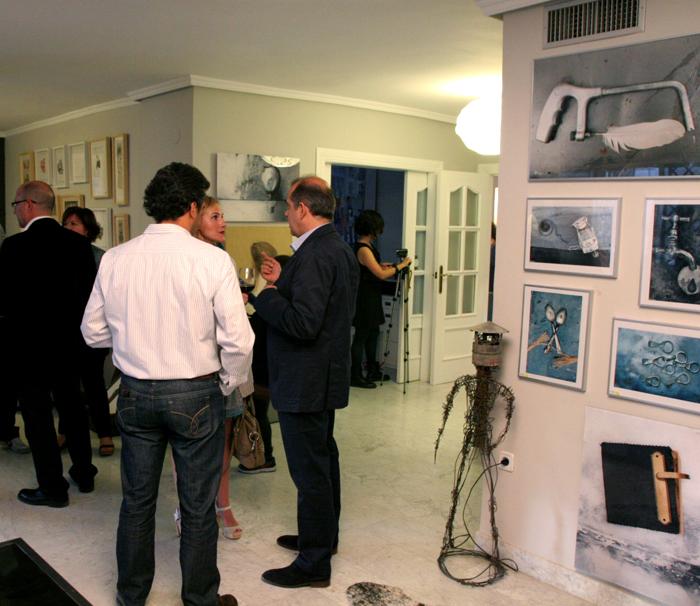 Exposición evento artístico