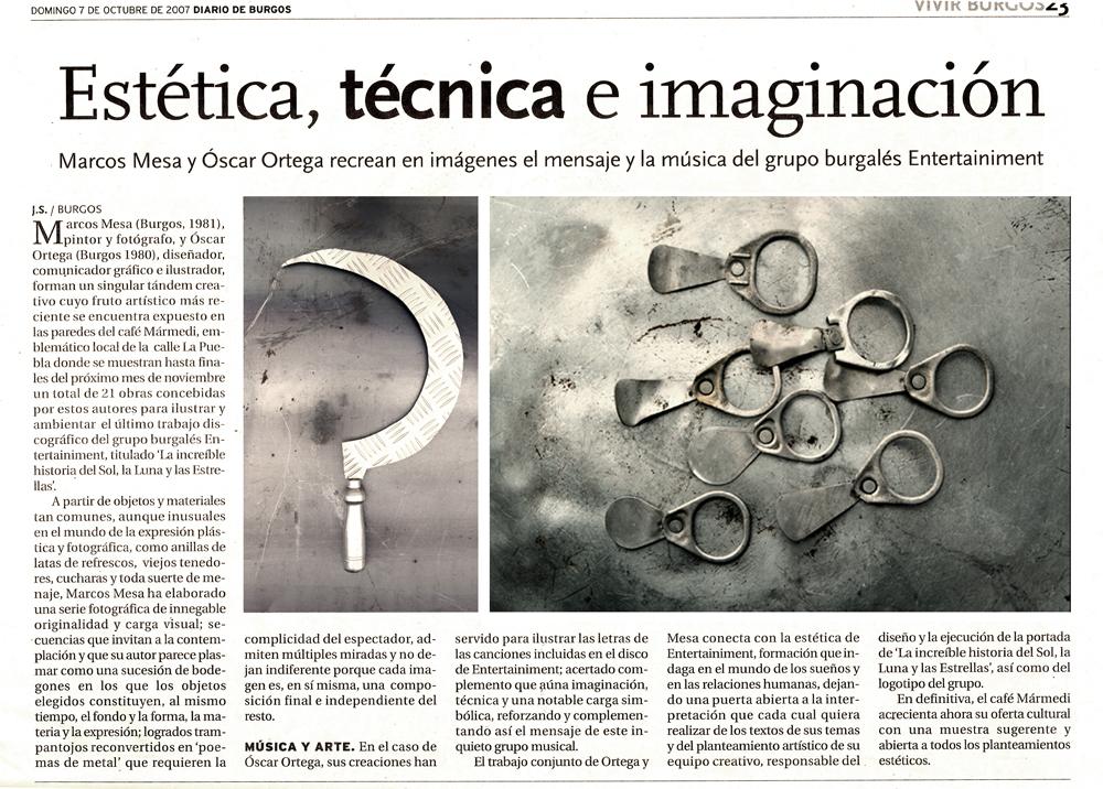 Artículo Diario de Burgos