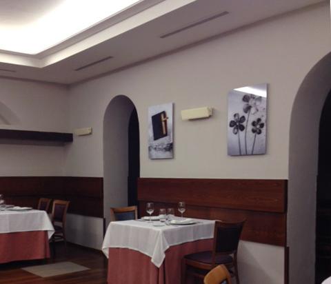 Muestra de Poesía visual en el Restaurante Jiménez