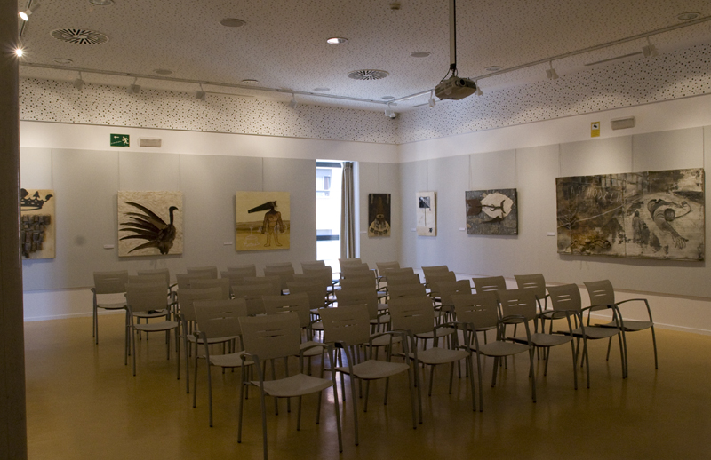 Exposición Willkommen en Biblioteca Cervantes 4